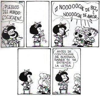 Mafalda y la Navidad