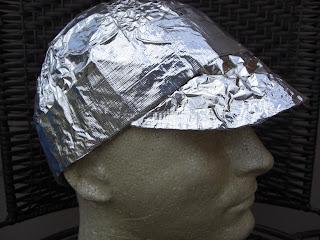 a tinfoil hat