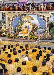 Jagadguru Shree Kripaluji Maharaj at Barsana Dham Ashram