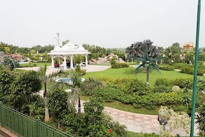 JKP Barsana Dham Garden 2 Swami Prakashanand Saraswati