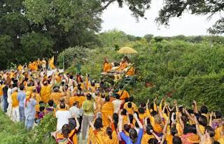 Shree Kripaluji Maharaj at Barsana Dham