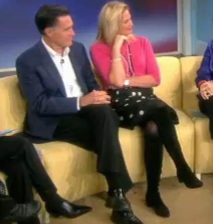 ann romney. Ann Romney Black Suede Boots