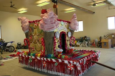 Candyland Parade Float Ideas