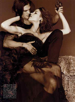 "The Terrier and Lobster: ""Outlaw Couture"": Bruce Weber and Natalia Vodianova for Vogue Italia ..."