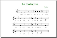 A la tardor es tradició cantar la canso de la castanyera