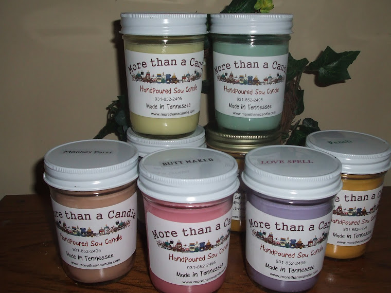 SOY CANDLES - JELLY JARS