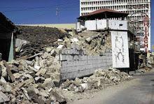 casas destruidas despues del terremoto