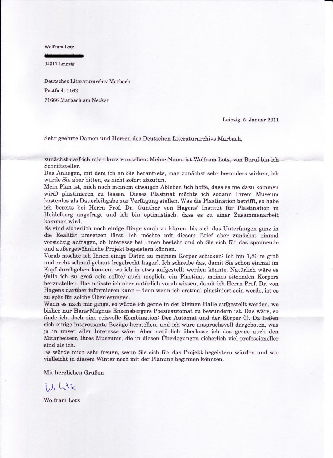 Briefe Mit Zu Wenig Porto : Der untergehende fisch zwei briefe