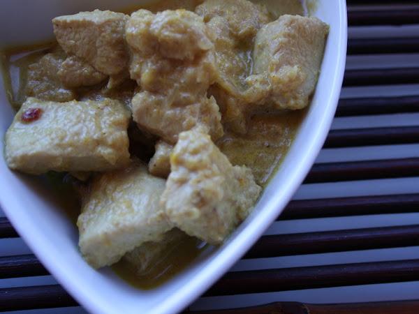 Madras curry di pollo