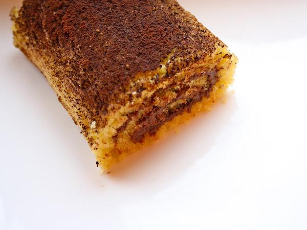 Dolce rotolo all'arancia e Nutella®