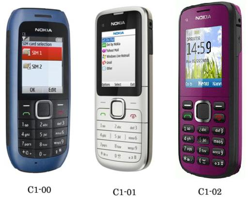TECHZONE: Nokia C1-00, C1-01, and C1-02 Review