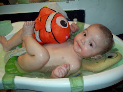 Bathtime with Nemo