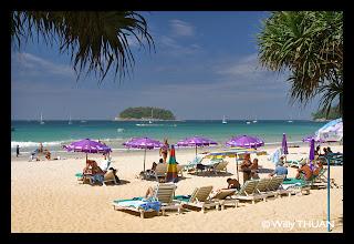 La plage de Kata Beach