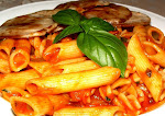 Penne and Fusilli in Herbed Tomato Sauce