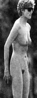 nude Princess diana lookalike