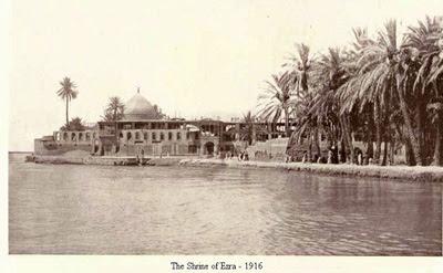 Могила библейского пророка Эзры на берегу Тигра