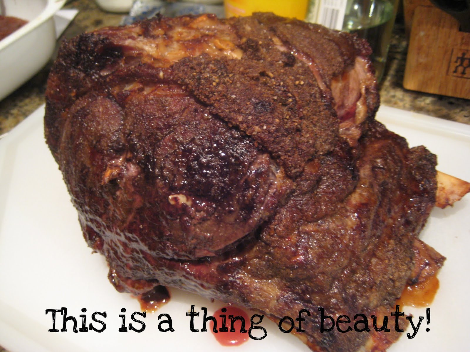 Carolyn in Carolina: Prime Rib Roast & Yorkshire Pudding Recipe