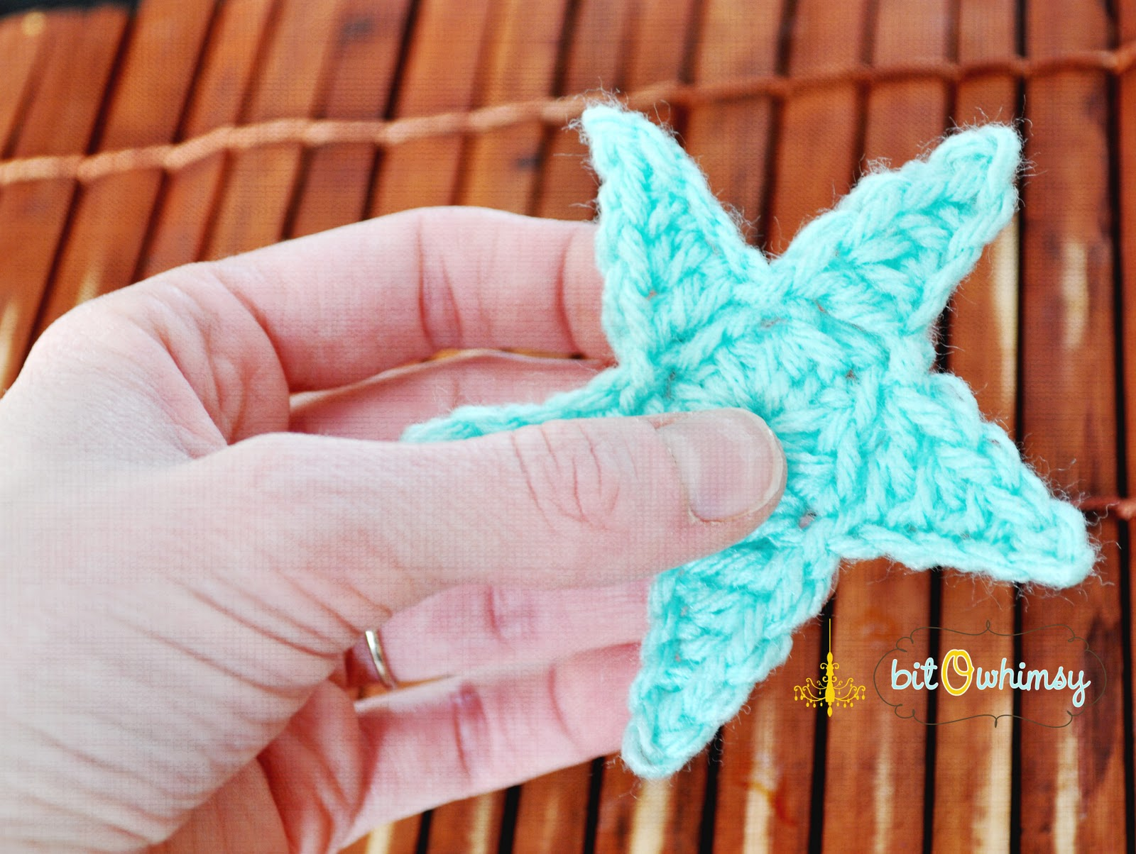Crochet Flower Star Pattern {Free} | JJCrochet's Blog