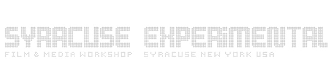Syracuse Experimental Film & Media Workshop
