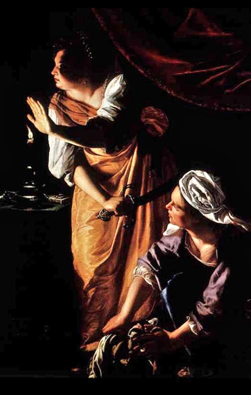 Artemisia Gentileschi (1593–1653), Judith and Her Maidservant with the Head