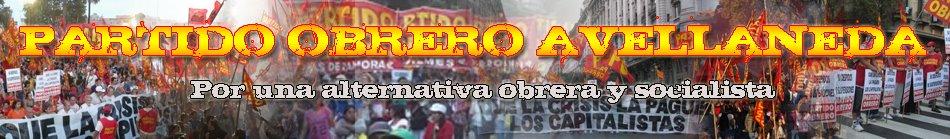 PARTIDO OBRERO AVELLANEDA