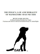The Policy, Law and Morality of Mandatory Spay/Neuter