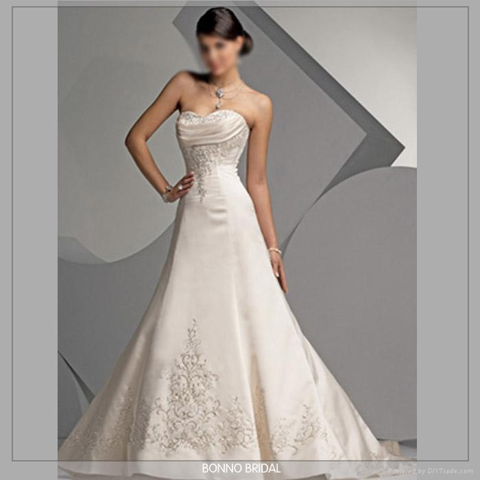 simple wedding dress designs. Bridal Gowns Designer Photo