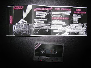 WARNING/WARNING cassette with j-card layout