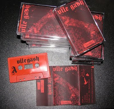 Vile Gash Leech Cassingle