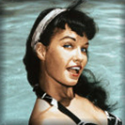 50s pin up makeup. 50#39;s Pin-up Girl Bettie Page