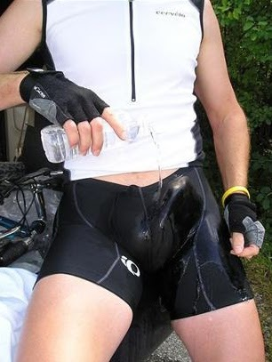 young hard cock in lycra