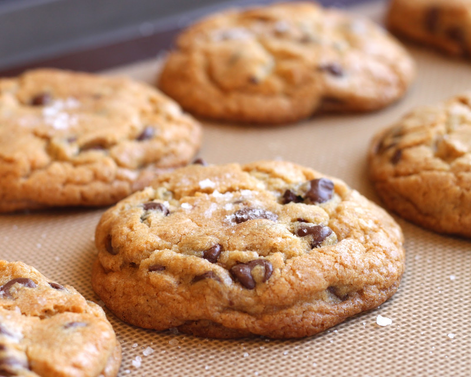 The Cilantropist: Recipe Update: Jacques Torres Chocolate Chip Cookies