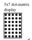 5*7 dot matrix LED display and interfacing,DICE on LED matrix, moving message display LED