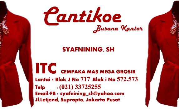 Busana Kantor Cantikoe