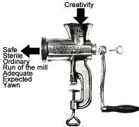 The committee meat grinder