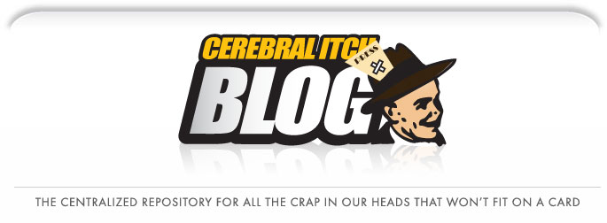 The Cerebral Itch Blog