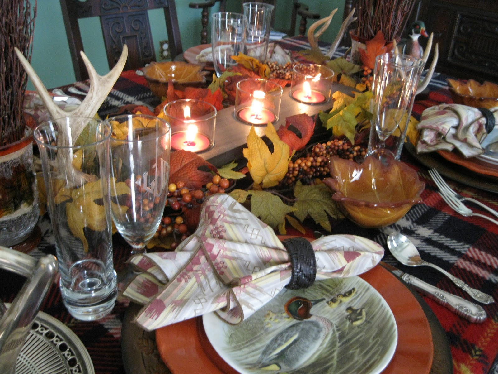 Beautiful Tablescapes For Fall 19 Imageries Homes