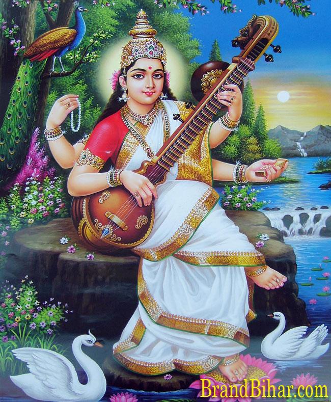 images of goddess saraswati. sarswati puja