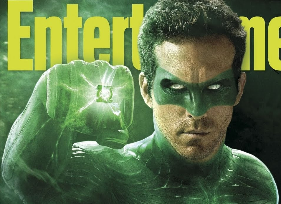 Ryan Reynolds as the Green Lantern Green Lantern Movie