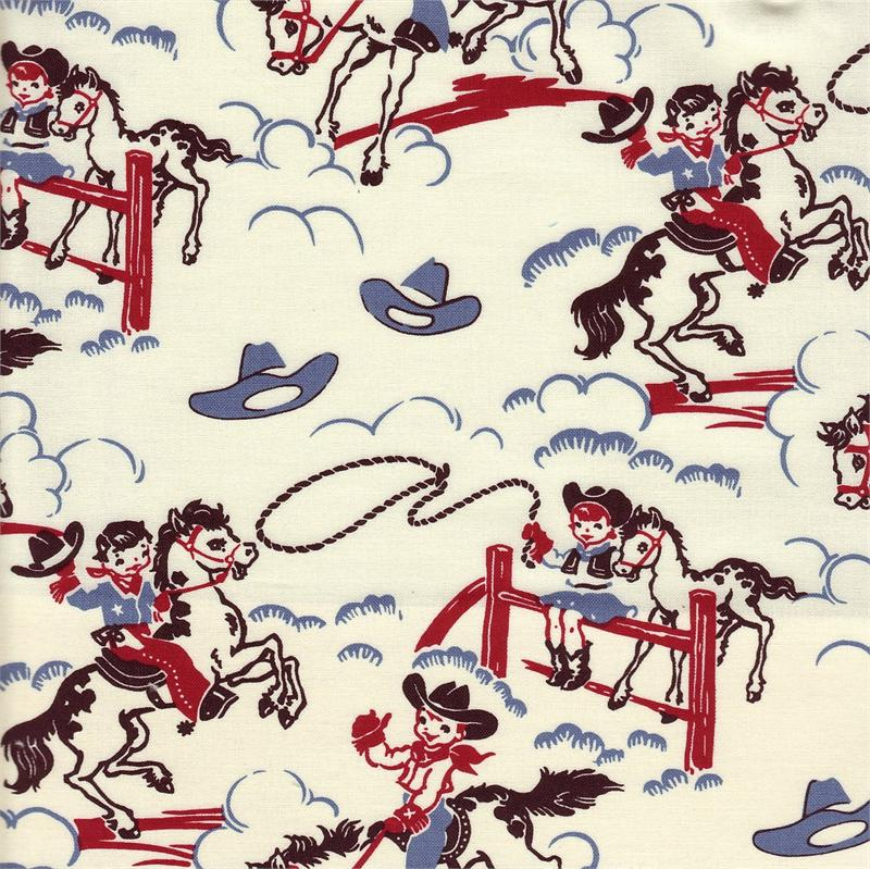 The malone 39 s january 2011 for Baby themed fabric