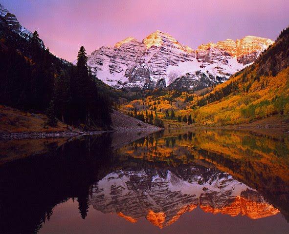 [Aspen+maroon+bells+sunrise]