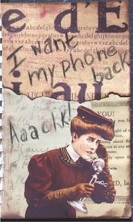 I want my phone back -- Aaackk!!