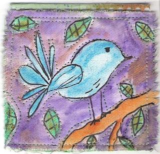 Doodle Bird - front
