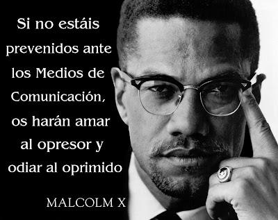 """""""La Cuatro"""" nos vende la esclavitud como una """"esperanza"""" Malcolm+X."""
