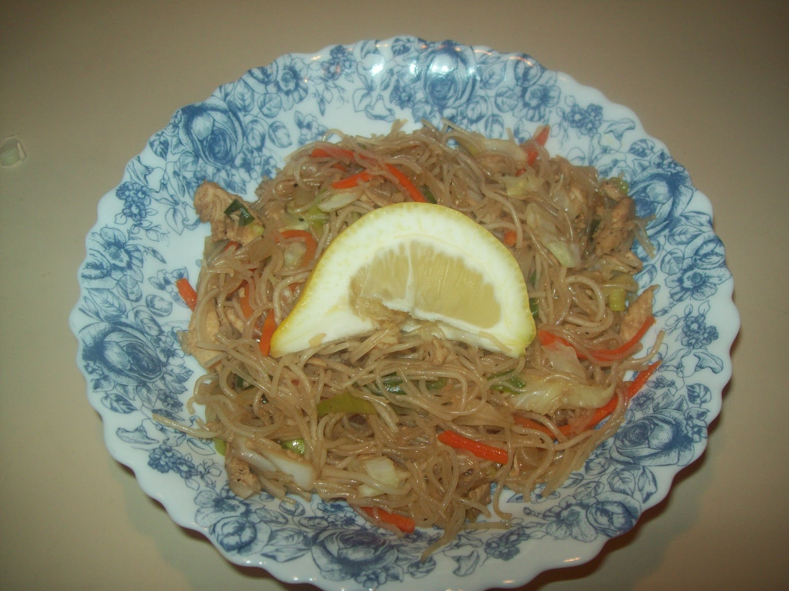 how to cook pancit bihon noodles