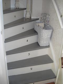 Interieurtips hoe ziet jouw leefruimte eruit deel 10 - Schilderen muur trap ...