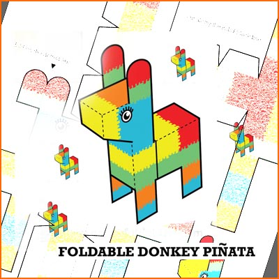 Unforgettable image throughout donkey pinata template printable
