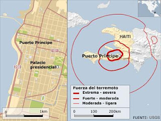 Haití devastado por un poderoso terremoto