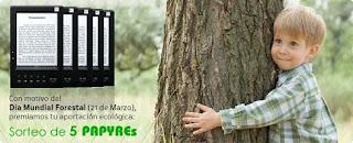 Grammata organiza un concurso de micro-relatos medioambientales con motivo del Día Forestal Mundial
