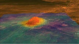 Intensa actividad volcánica en Venus